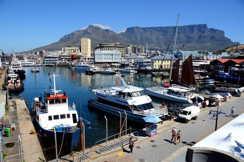El puerto interno en Cape Town, Suráfrica fotografía de archivo libre de regalías