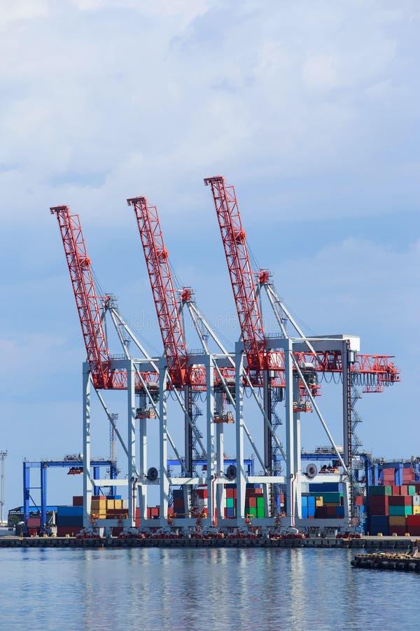 El puerto marítimo fotografía de archivo libre de regalías