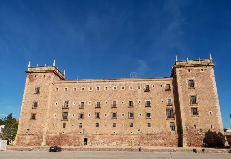 El Puig, Hiszpania 11/28/18: Monaster Santa Maria fotografia royalty free
