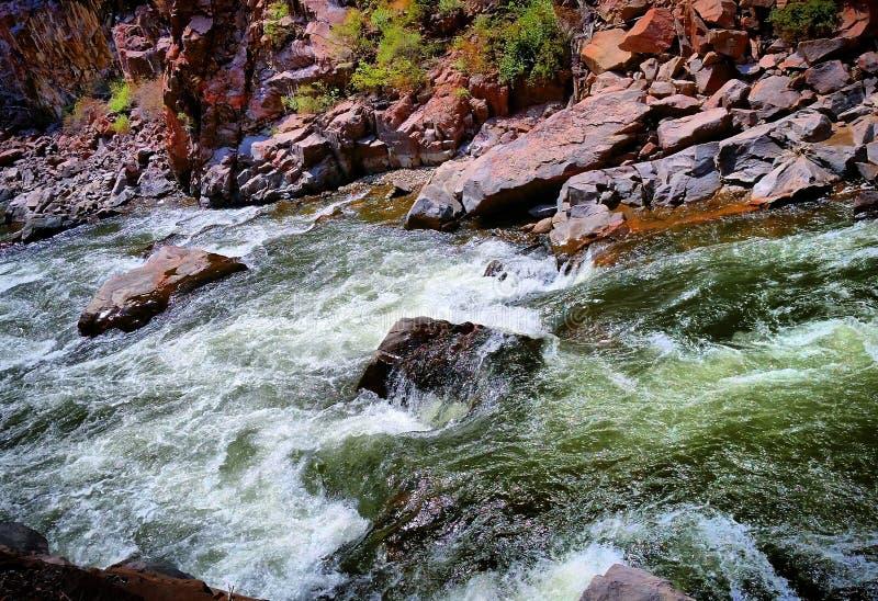 El río Arkansas Colorado fotos de archivo libres de regalías