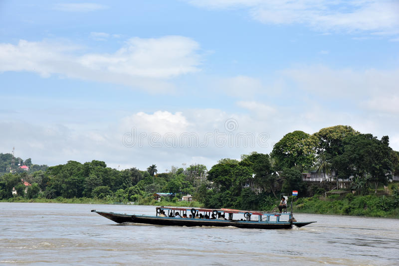 El río Brahmaputra fotos de archivo