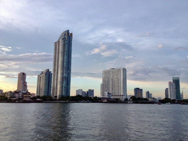 El río Chao Phraya imagen de archivo