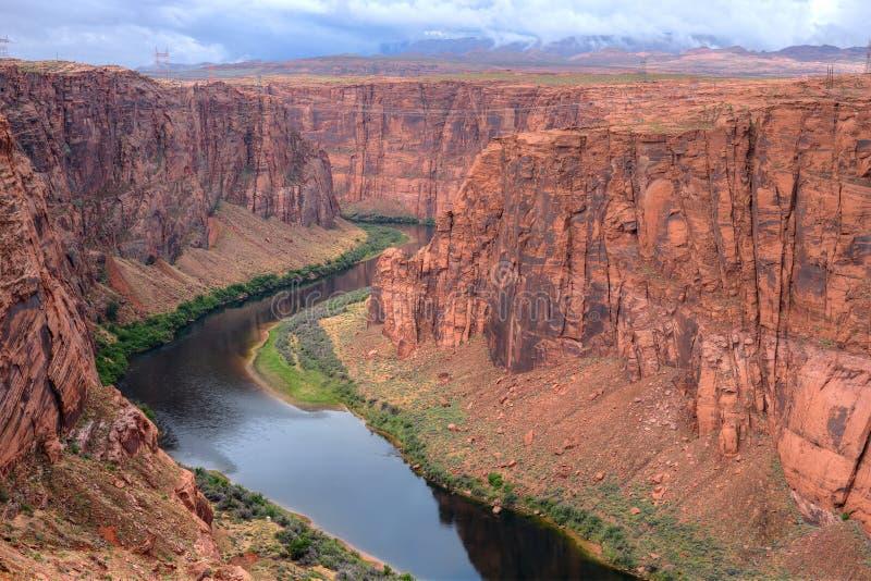 El río Colorado Arizona imagenes de archivo