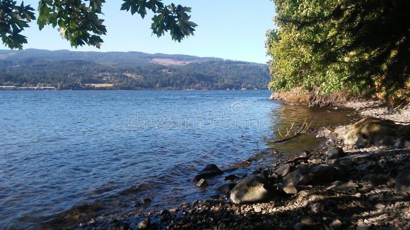 El río Columbia imagen de archivo