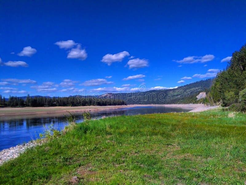 El río Columbia fotografía de archivo