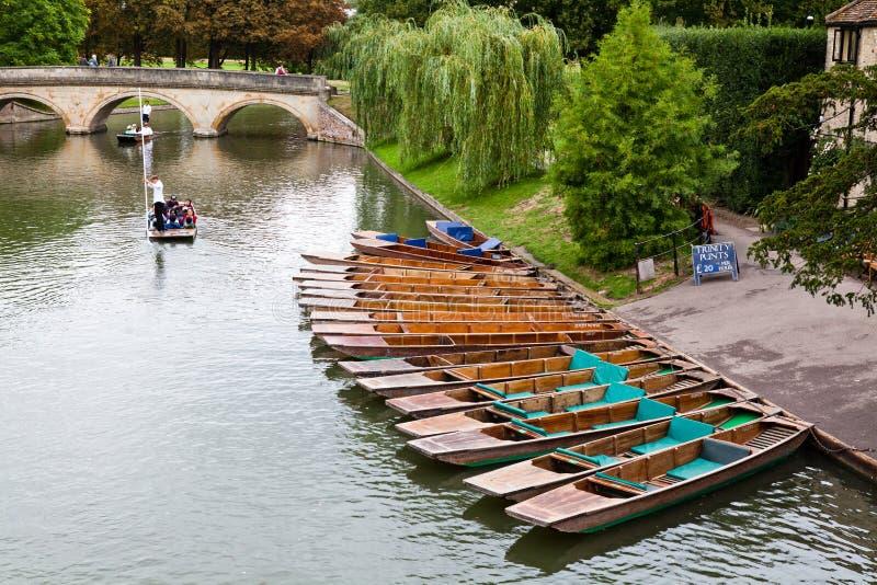 El río de Cambridge fotografía de archivo libre de regalías
