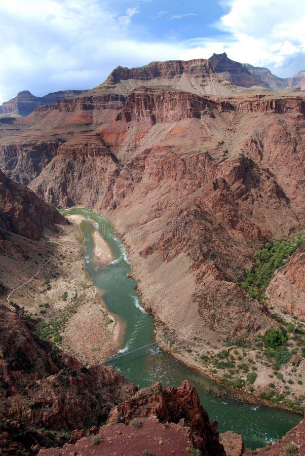 El río de Colorado poderoso fotografía de archivo libre de regalías