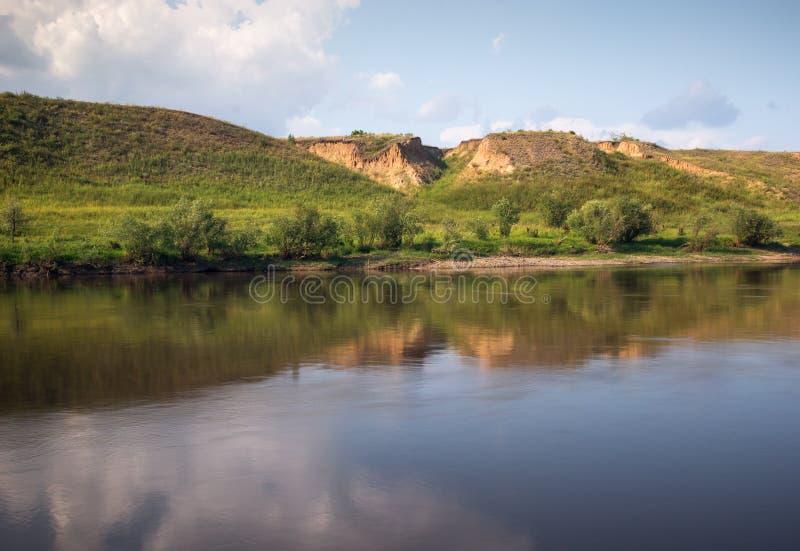 El río de OM fotografía de archivo