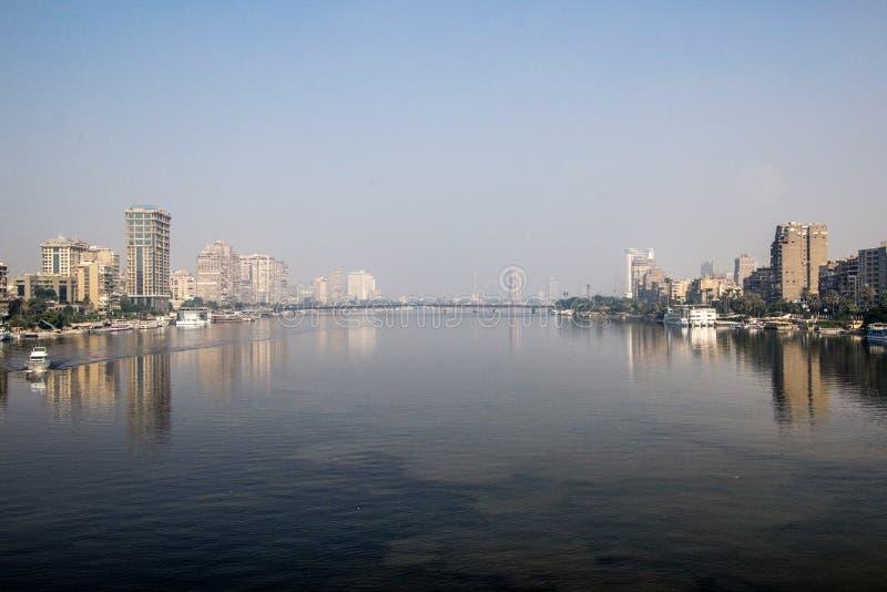 El río del Nilo foto de archivo libre de regalías