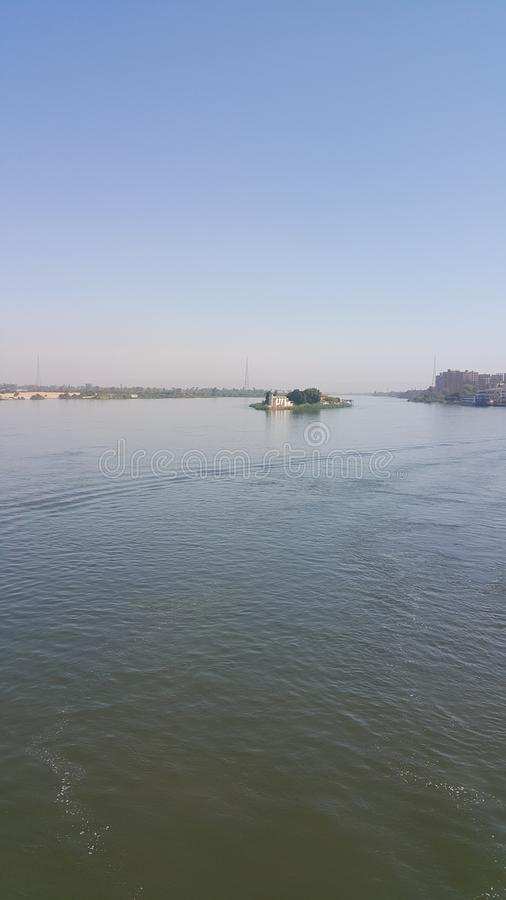 El río del Nilo foto de archivo