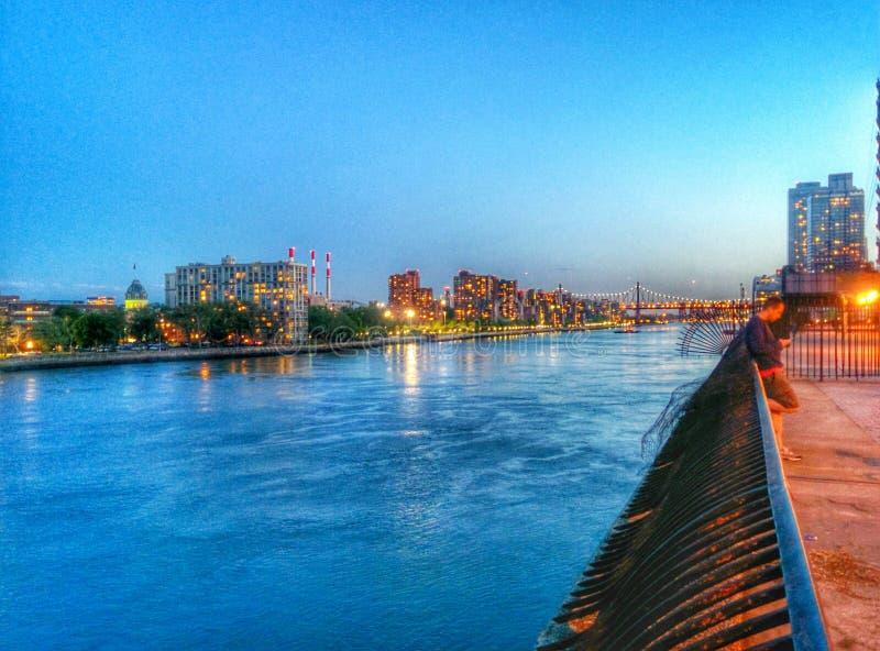 El río Harlem fotografía de archivo libre de regalías