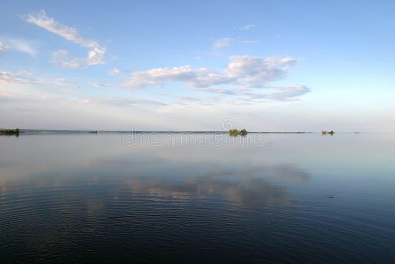 El río Kama fotografía de archivo libre de regalías