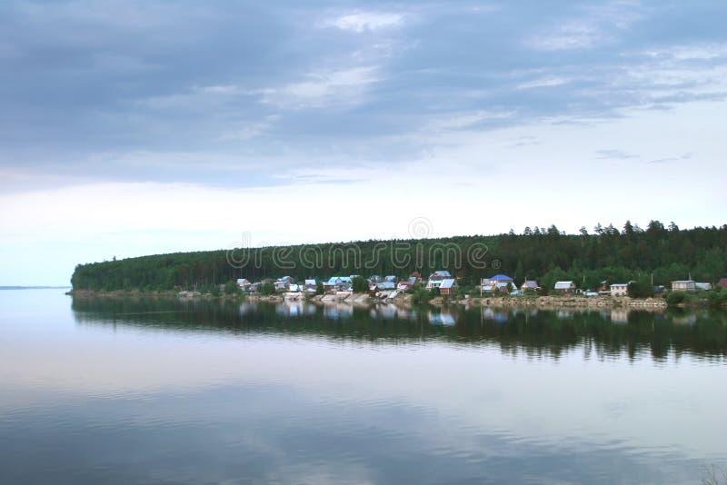 El río Kama fotos de archivo