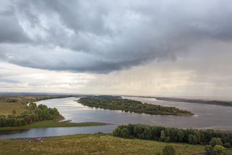 El río Kama imágenes de archivo libres de regalías