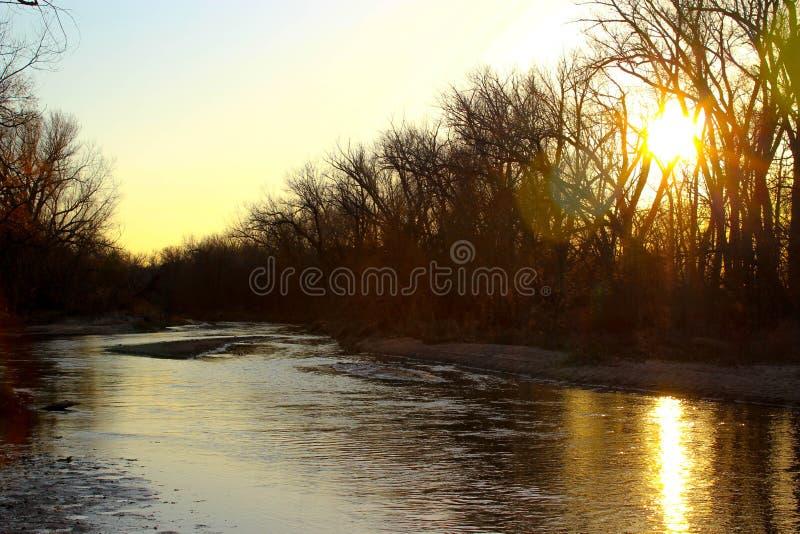 El río Kansas imagen de archivo libre de regalías