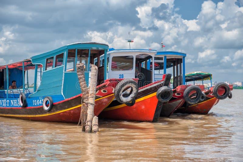 El río Mekong imágenes de archivo libres de regalías