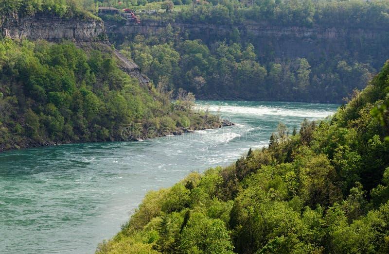 El río Niágara Whirlpool fotografía de archivo libre de regalías