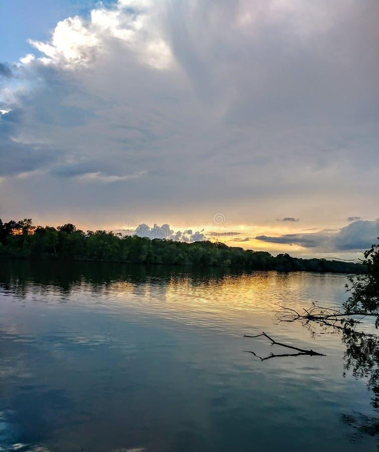 El río Osage fotos de archivo libres de regalías