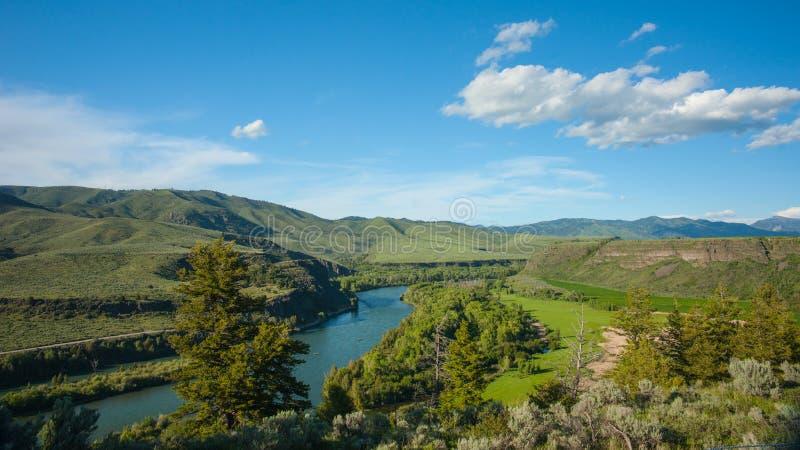 El río Snake en Idaho imagen de archivo