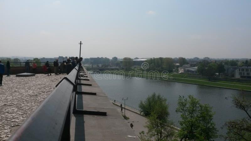 El río Vistula fotografía de archivo libre de regalías