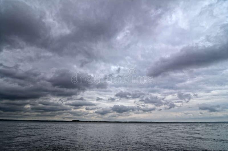 El río Volga foto de archivo libre de regalías