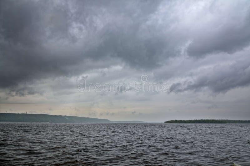 El río Volga imágenes de archivo libres de regalías