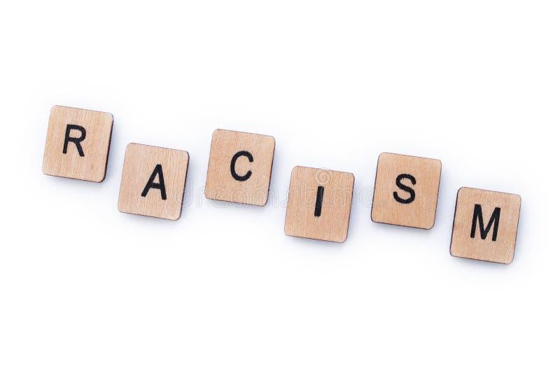 El racismo de la palabra fotografía de archivo libre de regalías