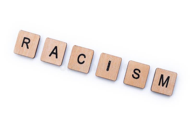 El racismo de la palabra imagen de archivo libre de regalías
