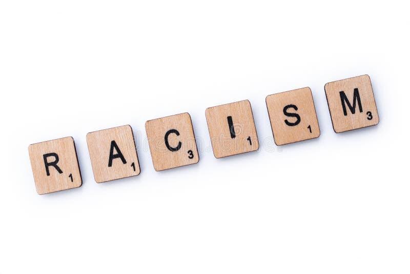 El racismo de la palabra foto de archivo libre de regalías