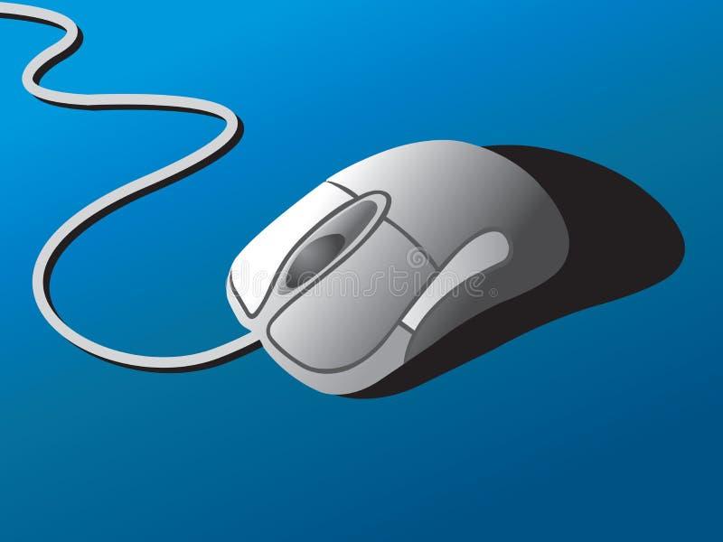 El ratón ilustración del vector