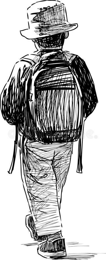 El recorrer de Little Boy libre illustration