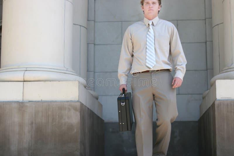 El recorrer del abogado imagenes de archivo