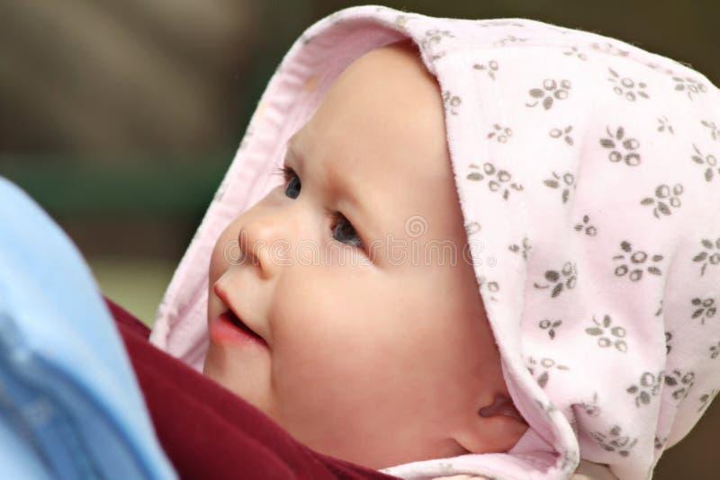 El recorrer del bebé foto de archivo