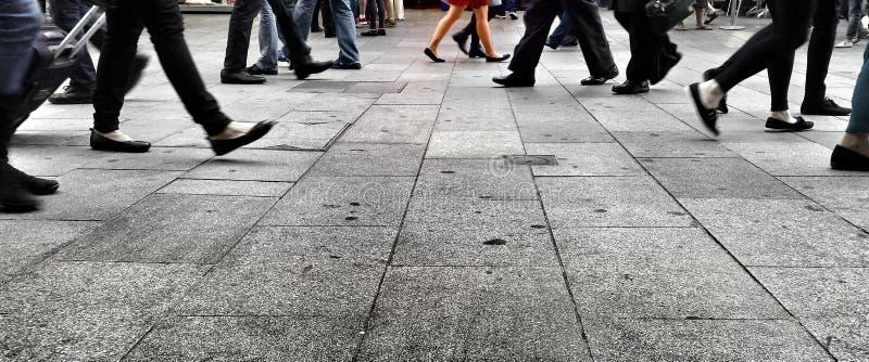 El recorrer en la calle fotografía de archivo libre de regalías