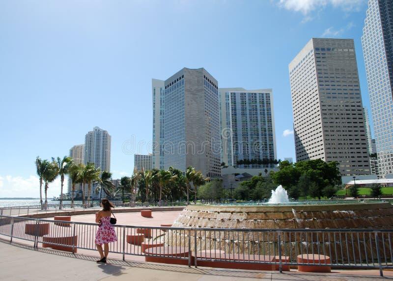 El recorrer en Miami fotografía de archivo