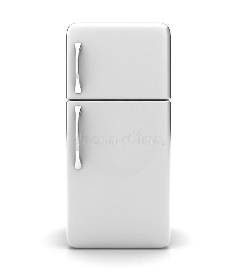 El refrigerador stock de ilustración
