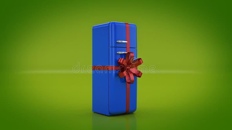 El refrigerador Descuentos del concepto libre illustration