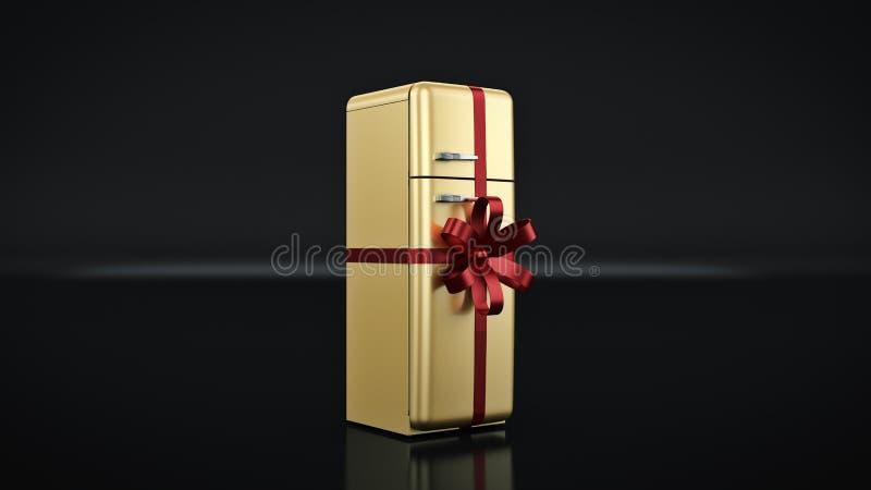 El refrigerador Descuentos del concepto ilustración del vector