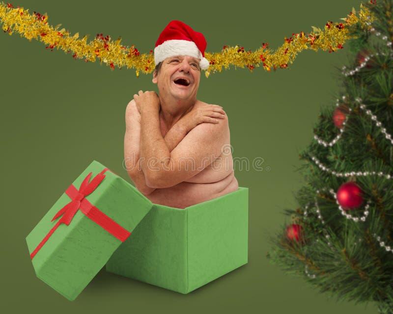 El regalo de Navidad peor nunca fotos de archivo libres de regalías