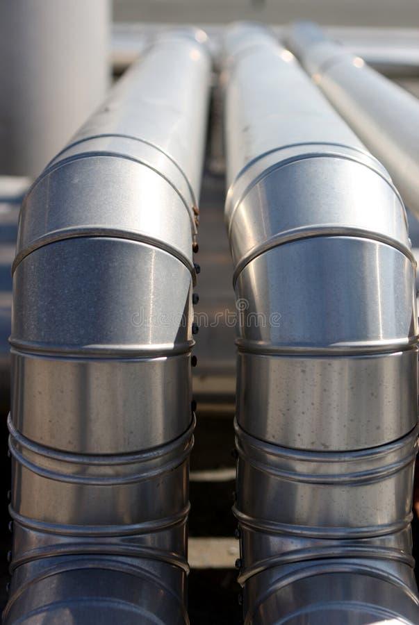 El regar industrial foto de archivo