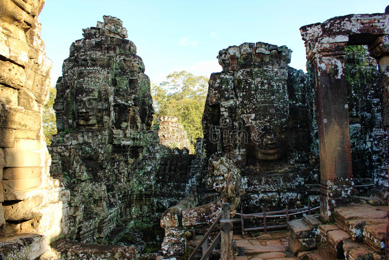 El Reino de Camboya Angkor Wat fotos de archivo libres de regalías