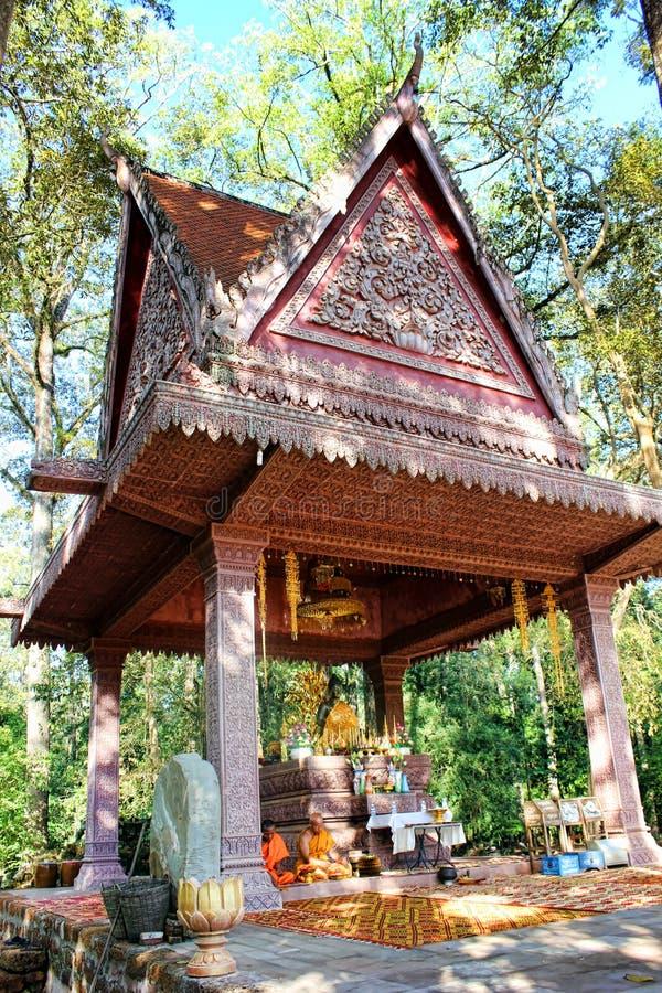 El Reino de Camboya Angkor Wat imágenes de archivo libres de regalías