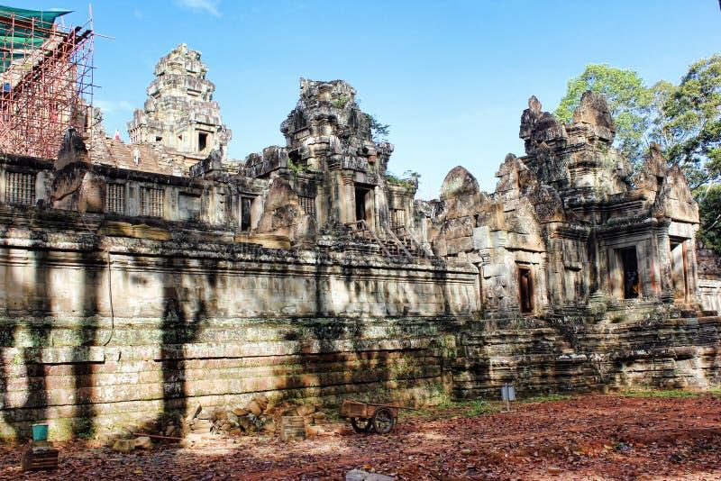 El Reino de Camboya Angkor Wat imagen de archivo libre de regalías