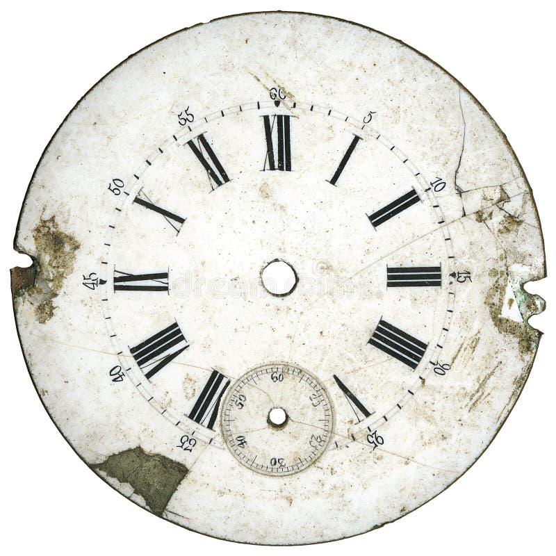 El reloj de la vendimia marca 3 imagenes de archivo