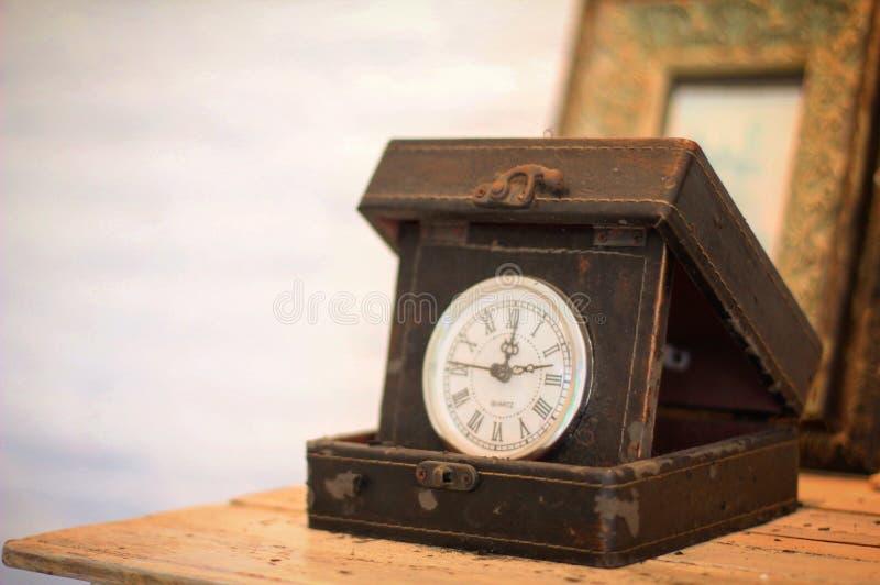 El reloj viejo fotografía de archivo