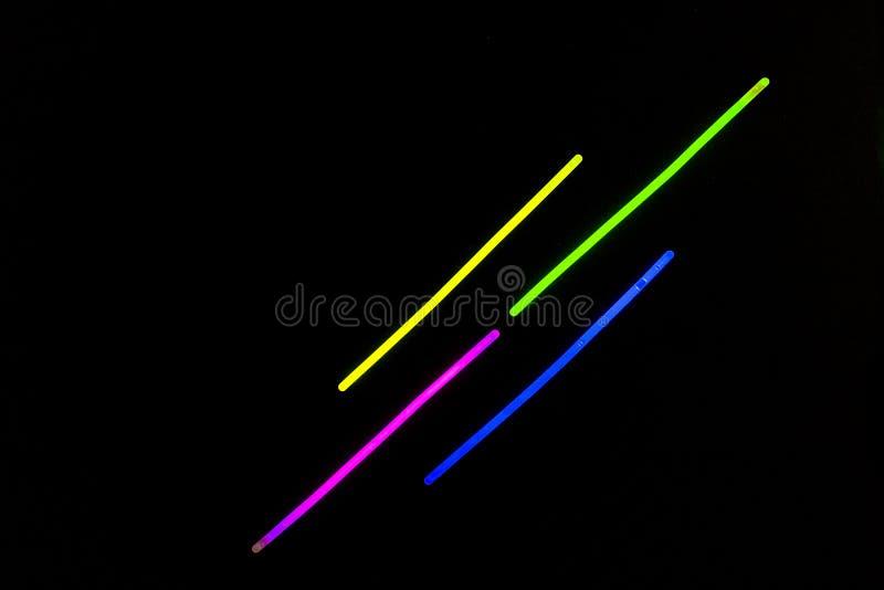 El resplandor pega luces fluorescentes libre illustration