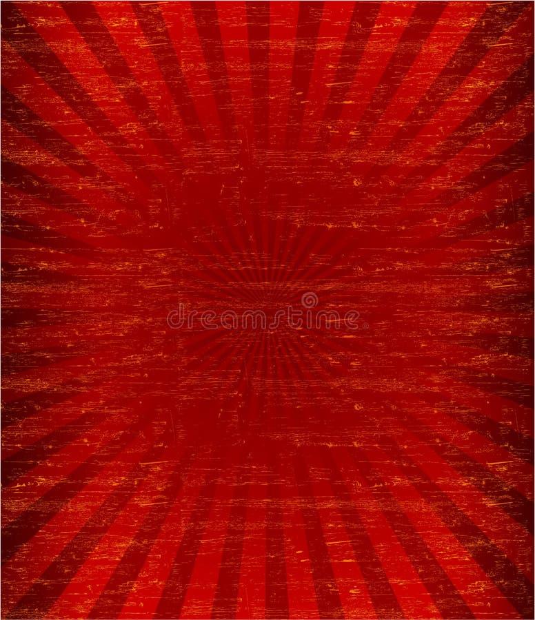 El resplandor solar del Grunge pattren stock de ilustración