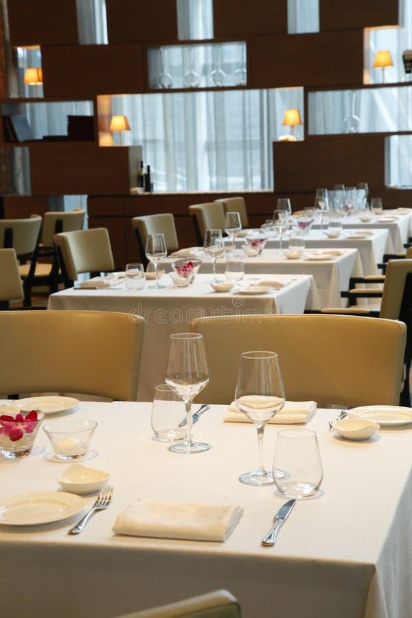 El restaurante imagen de archivo libre de regalías