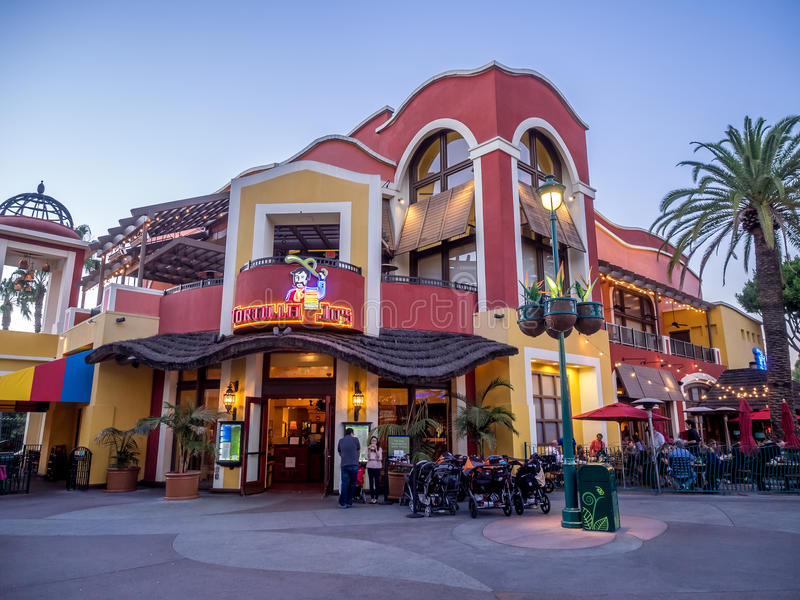El restaurante de Jo de la tortilla en Disney céntrico imagen de archivo