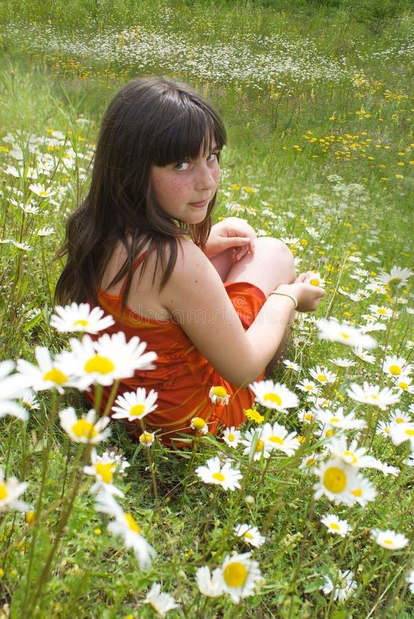 El retrato de la muchacha fotografía de archivo libre de regalías